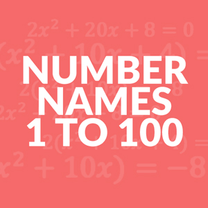 number-names-1-to-100
